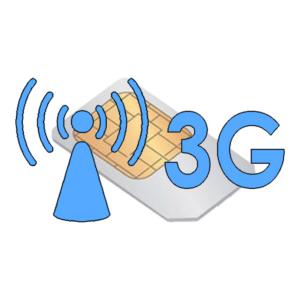 Xpozed - 3G SIM-kort för Hjärtstartare Physio-Control CR2