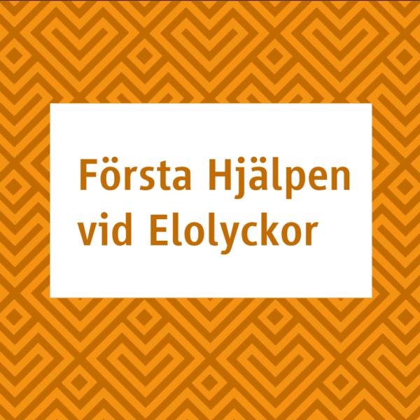 Xpozed - Kurser - Första Hjälpen vid Elskador