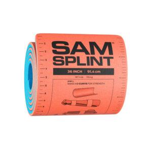 Xpozed - SAM Medical SAM Splint XL 91 cm Orange/Blå Rullad