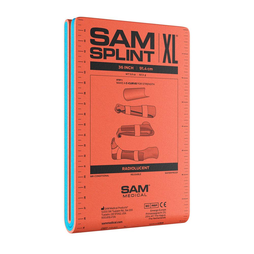 Xpozed - SAM Medical SAM Splint XL 91 cm Orange/Blå Vikt