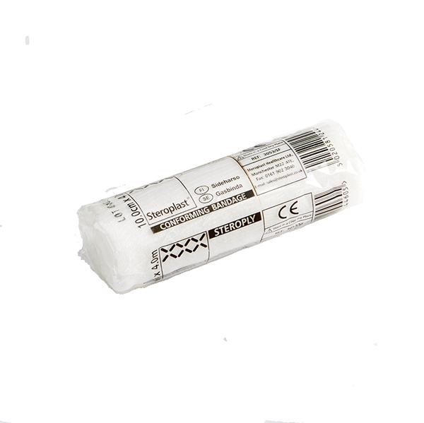 Xpozed - Steroplast Steroply Gasbinda Elastomull, 12 st.