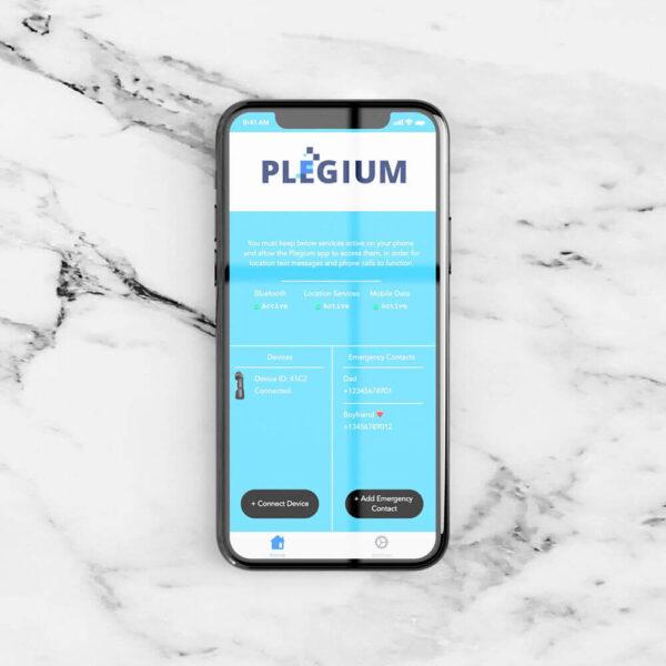 Xpozed - Plegium Försvarsspray Smart Mini