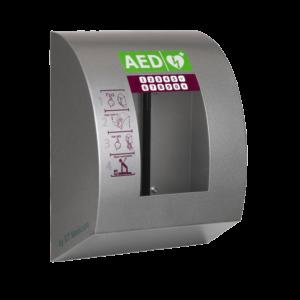 Xpozed - Hjärtstartarskåp Global Technic Medicare Sixcase 1430 Polar med larm och värme