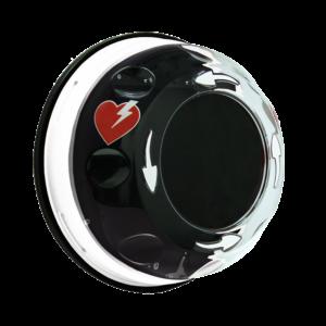 Xpozed Hjärtstartarskåp Rotaid Plus med larm, vit