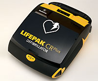 Hjärtstartare Physio-Control Lifepak CR Plus